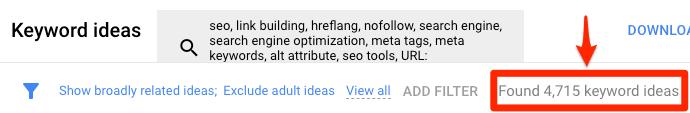 huong dan su dung google keyword planner