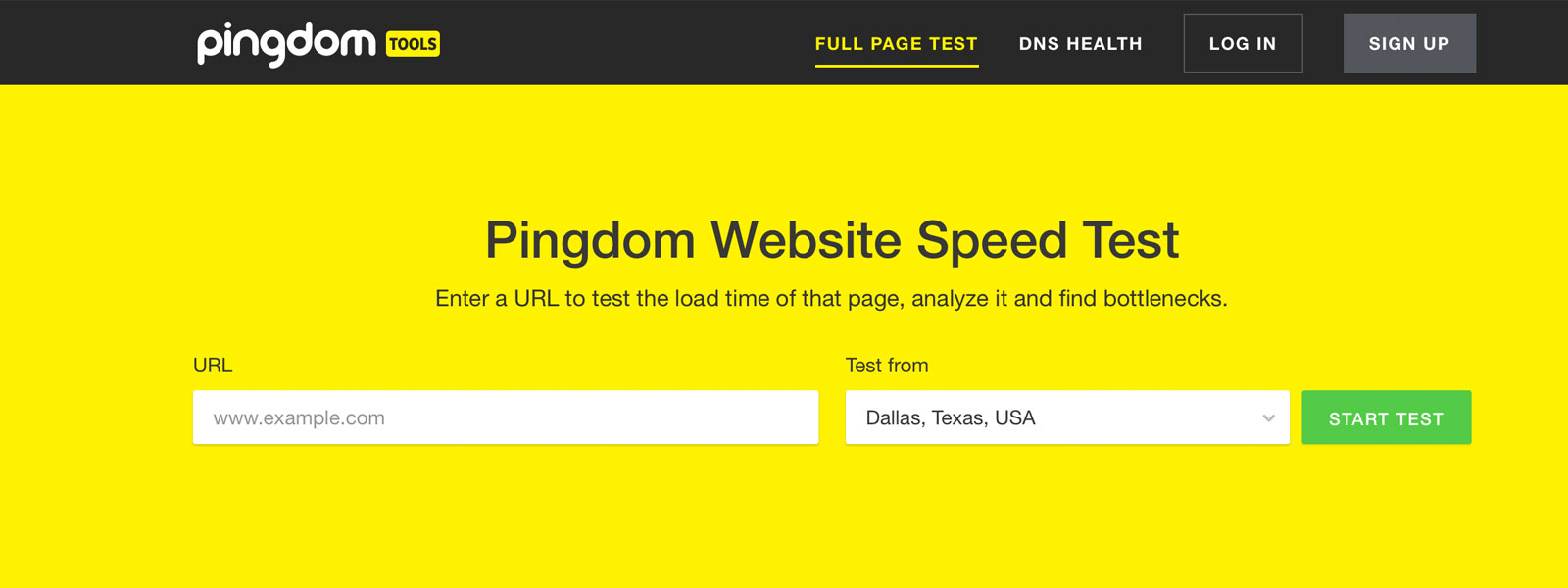 How to use Pingdom to Measure the Speed of a Website - Effectively!