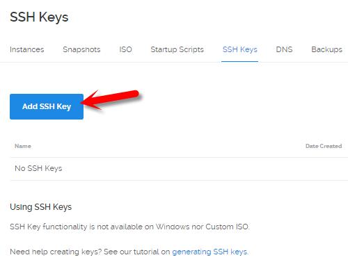 Them SSH Key tren VPS ởoVultr va DigitalOcean